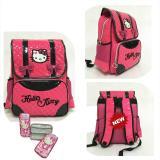 Diskon Onlan Tas Ransel Anak Import Dan Kotak Pensil Timbul Karakter Hello Kitty Pita Cantik Pink Onlan