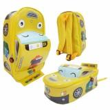 Harga Onlan Tas Anak Sekolah Paut Motif Bus Tayo Bahan Sponge Tahan Air Bentuk Mobil Unik Original