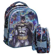 Review Onlan Tas Ransel Anak Sekolah Tk Import Karakter Batman Super Hero 5D Timbul Hologram Dki Jakarta