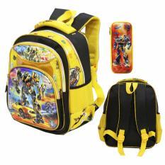 Perbandingan Harga Onlan Tas Ransel Anak Sekolah Tk Karakter Robot 5D Timbul Dan Kotak Pensil Timbul Yellow Black Di Dki Jakarta