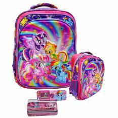 Spek Onlan Tas Ransel Sd Import Dan Kotak Pensil Set Alat Tulis Purple
