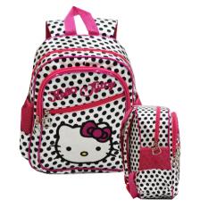 Onlan Tas Ransel Tk Atau Play Group Hello Kitty Bahan Satin Lembut Dan Halus Import Pink Onlan Diskon 50