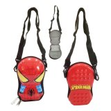 Kualitas Onlan Tas Selempang Dompet Anak Atau Tempat Hp Import Motif Karakter Spiderman Red Onlan