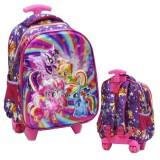 Toko Onlan Tas Trolley Ukuran Anak Sekolah Tk Little Pony 5D Timbul Import Onlan Dki Jakarta