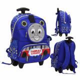 Beli Onlan Thomas And Friend Tas Trolley Anak Sekolah Tk Ada 3 Kantung Unik Import Biru Terbaru