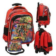 Spesifikasi Onlan Transformers 5D Timbul Anti Gores Tas Trolley Tk Ada 3 Kantung Import Dan Tas Selempang Merah Merk Onlan
