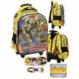 Top 10 Onlan Transformers Bumble Bee 5D Timbul Tas Trolley Anak Sekolah Tk Dan Kotak Pensil Yellow Black Online