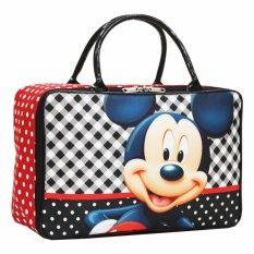 Harga Onlan Travel Bag Anak Karakter Bahan Kanvas Halus Black Dan Spesifikasinya