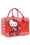 Promo Toko Onlan Travel Bag Anak Perempuan Bahan Kanvas Halus Red
