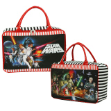 Spesifikasi Onlan Travel Bag Karakter Star Wars Bahan Kanvas Halus Merah Hitam Murah
