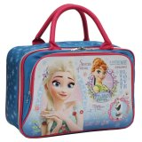 Jual Onlan Travel Bag Motif Karakter Anak Dua Kantung Kain Sponge Anti Air Blue Branded Murah
