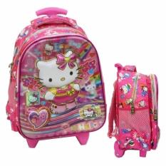 Jual Onlan Trolley Anak Tk Pg Import Karakter Anak Perempuan Cantik Pink Original