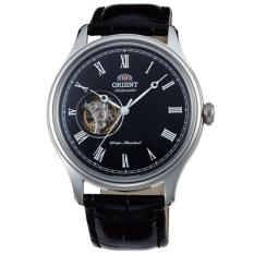 Toko Jual Orient Jam Tangan Pria Orient Fag00003B Semi Skeleton Automatic Leather Watch