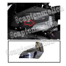 ORIGINAL AHM - Aksesoris Motor HONDA VARIO 125 150 ESP AIR CLEANER GARNISH COVER GARNIS LIST CHROME CROME CROM SILVER MESIN COVER BODY BODI STICKER STIKER TEMPELAN Asesoris Motor Acessoris Motor VARIO 125 150