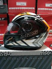 ORIGINAL helm mds provent double visor motif
