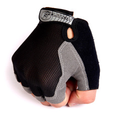 Beli Ormano Sarung Tangan Motor Gym Fitness Training Racing Bike Fingerless Hot Speed Hitam Ormano Dengan Harga Terjangkau