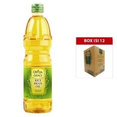 Review Oryza Grace Minyak Goreng Bekatul Padi Rice Bran Oil 1 L X 12Pcs Terbaru