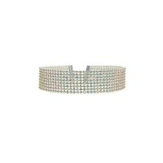 Oscar Toko Elegan Wanita Penuh Berlian Imitasi Kalung Kalung Pernikahan Di Sekitar Perhiasan Leher-Intl