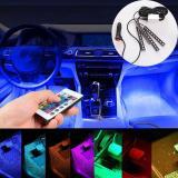 Perbandingan Harga Oscar Toko Remote Control Colorful Mobil Auto Interior Lantai Suasana Led Lampu Terang Strip Oem Di Tiongkok