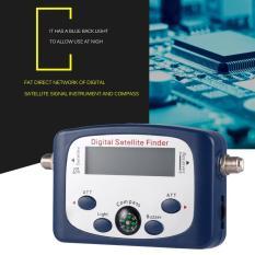 JS-SF06 Digital LCD Penemu Satelit Sinyal Satelit Pencari & Meter Kekuatan Biru