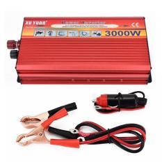 Xuyuan 3000 W Tenaga Surya Mobil Daya Inverter Portabel Daya Konverter untuk Rumah Mobil 12/220 V