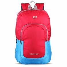 Toko Osmose Laptop Backpack 159 Nylon Raincover Merah Terlengkap