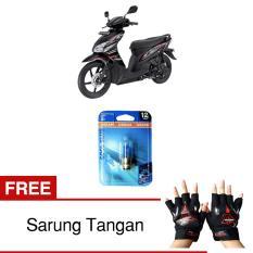 Harga Osram Lampu Depan Motor Honda Vario 62337Cb 35 35 12V P15D 25 1 Cool Blue Gratis Sarung Tangan Online