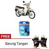 Jual Beli Osram Lampu Depan Motor Kawasaki Kaze R 62337Cb 35 35 12V P15D 25 1 Cool Blue Gratis Sarung Tangan Jawa Barat