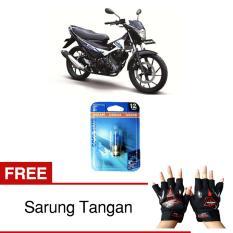 Harga Osram Lampu Depan Motor Suzuki Satria Fu 62337Cb 35 35 12V P15D 25 1 Cool Blue Gratis Sarung Tangan Osram