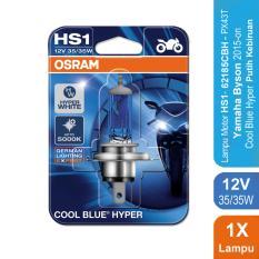Osram Lampu Motor Yamaha Byson 2015-on - HS1 62185CBH 12V 35/35 - Cool Blue Hyper
