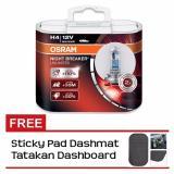 Harga Osram Nbr Nightbreaker Unlimited Lampu H4 Halogen Gratis Stickypad New