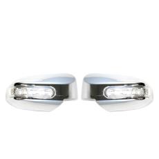 Autofriend Cover Spion Dengan Lampu Toyota Etios Toms 2013 2014 Pelindung Variasi Aksesoris Mobil Modifikasi -