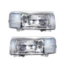 OTOmobil Head Lamp Lights Suzuki Futura 1994-1997 List Silver - SU-SZ-20-1959-A5-6B - Set