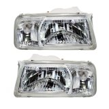 Jual Otomobil Head Lamp Lights Suzuki Vitara Kristal 1990 1998 Su Sz 218 1107 Kr Set Grosir