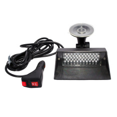 Autofriend Lampu LED Dashboard 12 Sirene Polisi Variasi Aksesoris Interior Mobil - AI-LL-117-LAMPU-LED-DASBOARD-12 - Biru/Merah