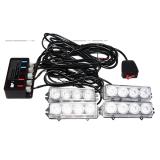 Harga Otomobil Lampu Led Strobo 4 Output 12V 30W Sirene Polisi Aksesoris Eksterior Mobil In Satu Set