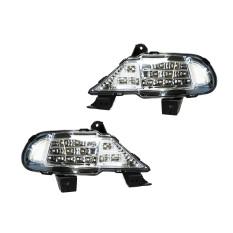 Autofriend LED Bumper Pajero Sport 2008-2012 Variasi Lampu Aksesoris Mobil - AI-MS424 - Putih