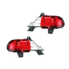 Autofriend LED Bumper Pajero Sport 2008-2012 Variasi Lampu Aksesoris Mobil - AI-MS424 - Putih/Merah