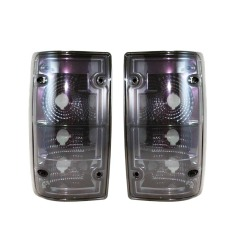 Cuci Gudang Otomobil Stop Lamp Tail Lights Toyota Kijang Grand 1992 1996 Su Ty 11 Ty 698 G Sc Grey Smoke Chrome Set