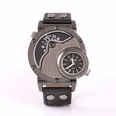 Oulm Hp9591 Busana Pria Kepribadian Movement Quartz Watch Coffee Intl Diskon Indonesia
