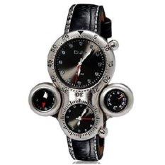 Oulm Mechanical Analog Quartz Men Leather Band Fashion Watch - 1149