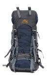 Jual Outdoor Mountaineering Ransel Besar Kapasitas Waterproof Backpack Dark Blue Tiongkok Murah