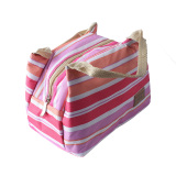 Beli Outdoor Piknik Travel Portable Lunch Dinner Bag Container Box Carry Totes Pouch Rose Red Oem Asli