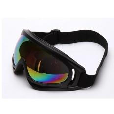 Outdoor Riding Kacamata X400 Cermin Angin Motor Militer CS Impact Goggles Ski Cermin-Internasional
