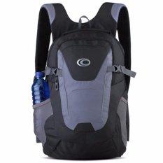 Ozone Tas Laptop Tas Kuliah Tas Sekolah Backpack 155 Nylon + Raincover - Hitam Abu