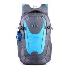 Ozone Tas Laptop Tas Kuliah Tas Sekolah Backpack 155 Nylon + Raincover - Abu Biru