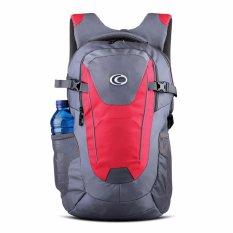 Cara Beli Ozone Tas Laptop Tas Kuliah Tas Sekolah Backpack 155 Raincover Abu Merah