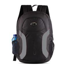 Ozone Tas Laptop Tas Sekolah Tas Kuliah Backpack 164 + Raincover - Hitam ABU