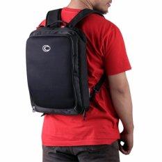 Spesifikasi Ozone Tas Ransel Selempang Kerja Laptop Backpack 3 In 1 725 Slim Hitam Online