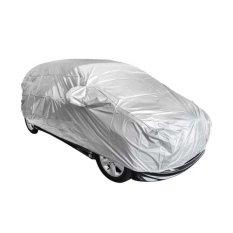 P1 Body Cover Ertiga Dreza Sarung Mobil pelindung penutup tutup selimut bungkus mobil - Silver
